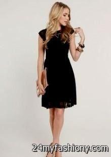 Fancy Black Dresses