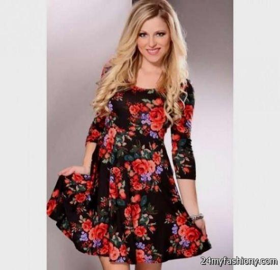 floral dress 3 4