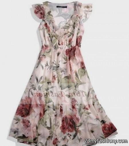 floral summer dresses for juniors 20162017 b2b fashion