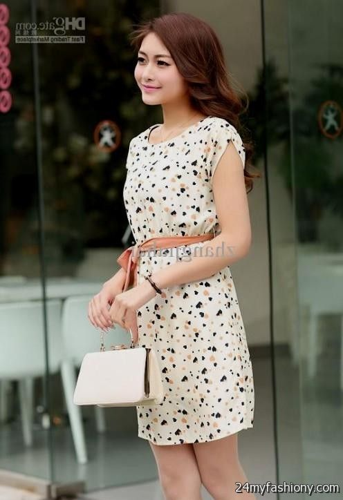 floral summer dresses with sleeves 2016-2017 » B2B Fashion