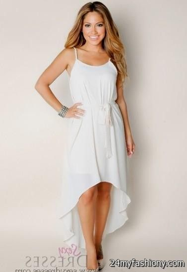Flowy White Summer Dress - Missy Dress