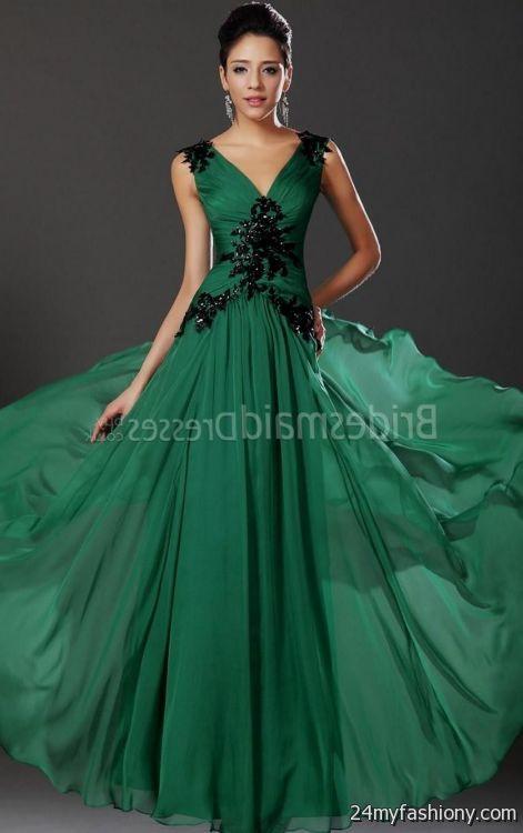 Forest green bridesmaid dresses 2016 2017 b2b fashion for Forest green wedding dress