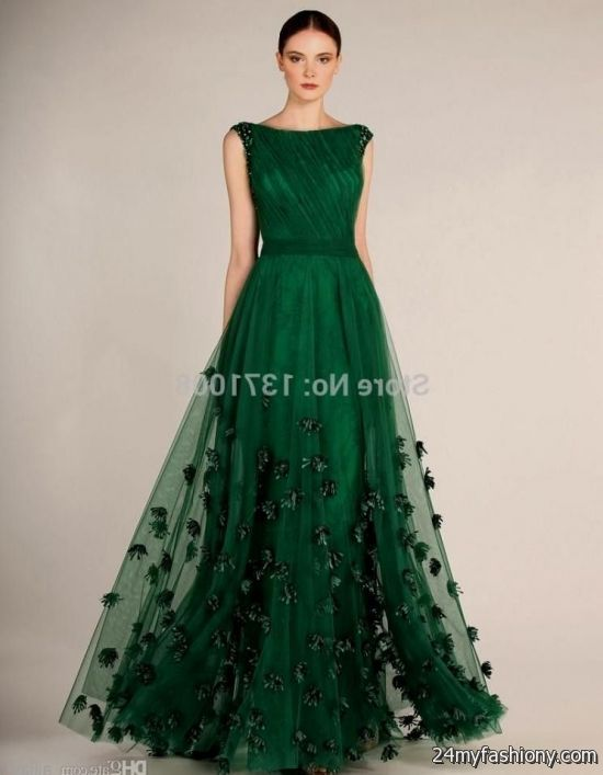 forest green prom dress looks | B2B Fashion