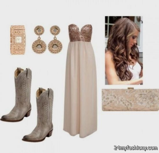 d67bf3fa0d3 You can share these formal dresses with cowboy boots on Facebook