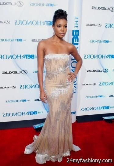 Gabrielle Union More in Nearly Naked Dresses at Oscars
