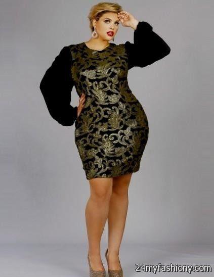 gold and black plus size dress looks | B2B Fashion