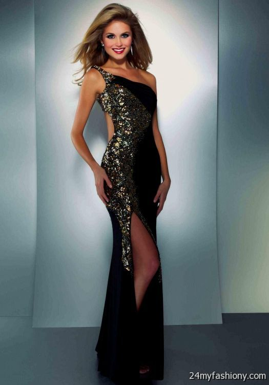 gold and black prom dresses 2016-2017 » B2B Fashion