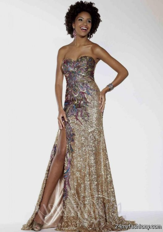 prom dresses 2018 black and gold plus size tops