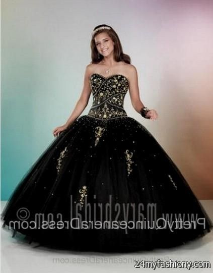 gold and black quinceanera dresses 2016-2017 » B2B Fashion