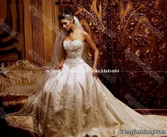gold and white ball gown 2016-2017 » B2B Fashion