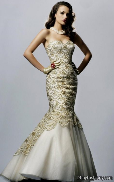 Light Purple Quinceanera Dresses gold and white mermaid...