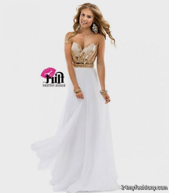 gold and white prom dresses 2016-2017 » B2B Fashion