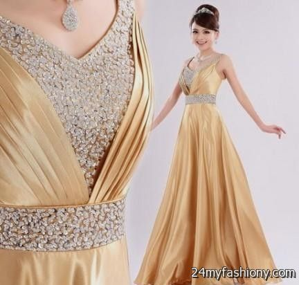 Gold Party Dresses For Women | Coctail Dresses