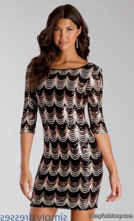 Sequin Cocktail Dresses On Sale