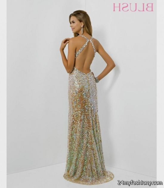 gold sequin prom gown 2016-2017 » B2B Fashion