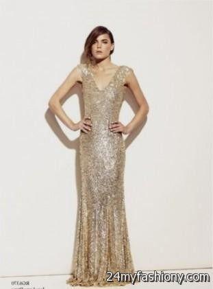 gold sequin wedding dresses 2016-2017 » B2B Fashion