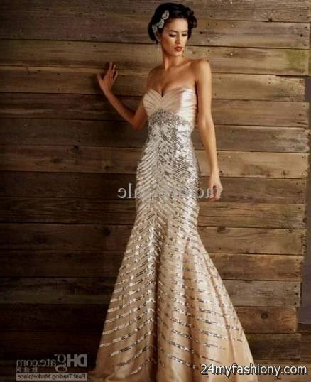 You Can Share These Gold Sequin Wedding Gown On Facebook Stumble Upon My Space Linked In Google Plus Twitter And All Social Networking Sites Are