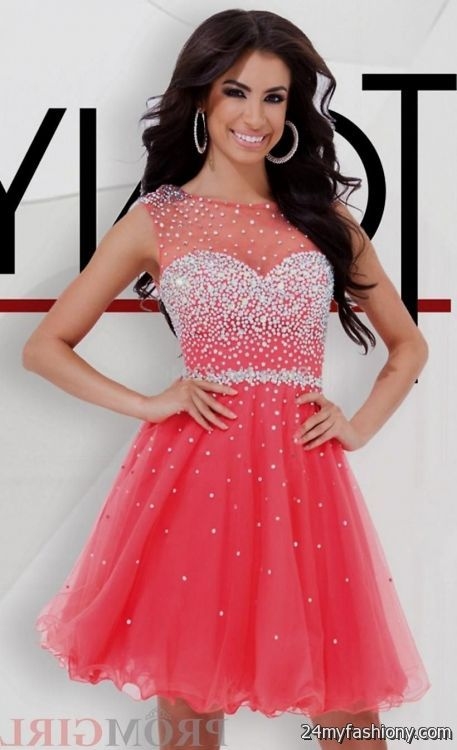graduation dresses for 8th grade with straps 2016-2017 » B2B Fashion