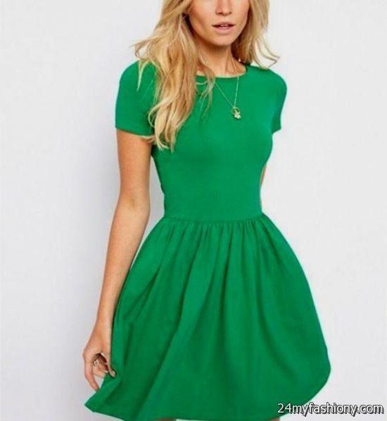 green dresses for teenage girls 2016-2017 | B2B Fashion