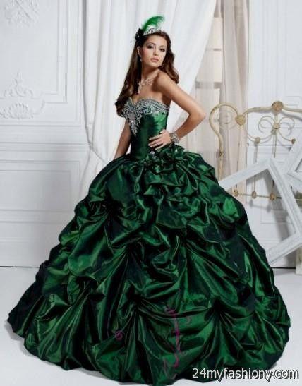 green gothic prom dresses 2016-2017 » B2B Fashion