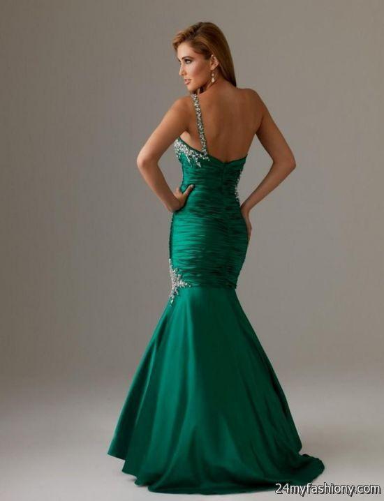 green mermaid prom dress 2016-2017 » B2B Fashion