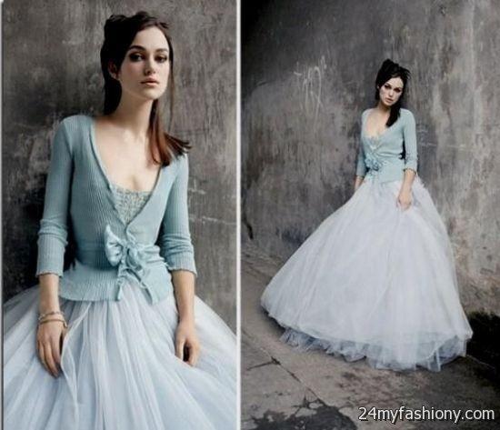 grey blue wedding dress 2016-2017   B2B Fashion