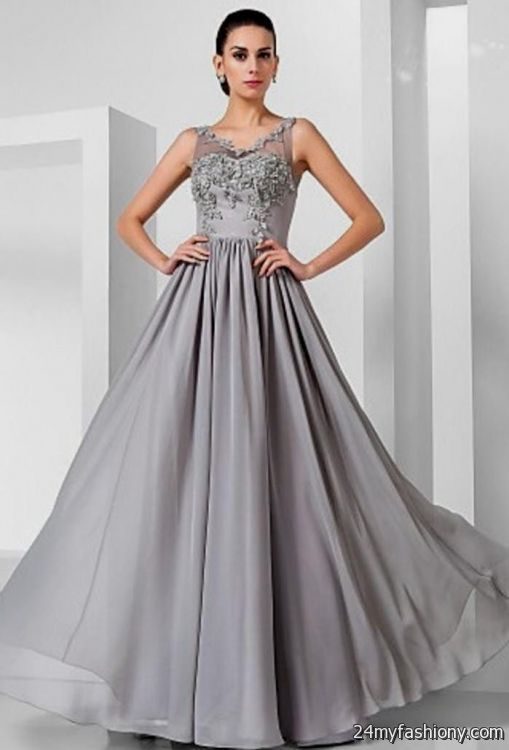 Grey Homecoming Dresses 2017 - Boutique Prom Dresses