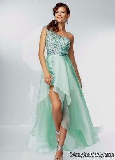 Hi-Low Prom Dresses with Straps