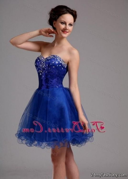 high school graduation dresses blue 20162017 b2b fashion