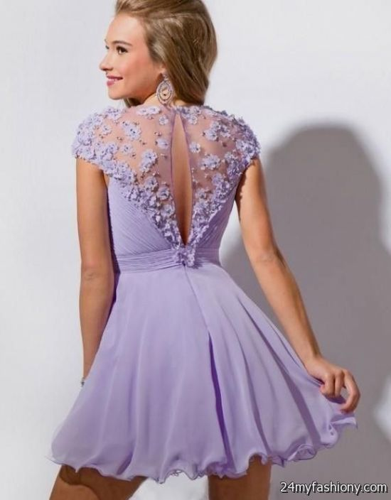 Homecoming Dresses With Cap Sleeves 45