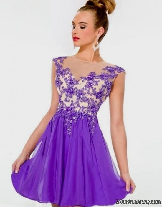 Homecoming Dresses With Cap Sleeves 46