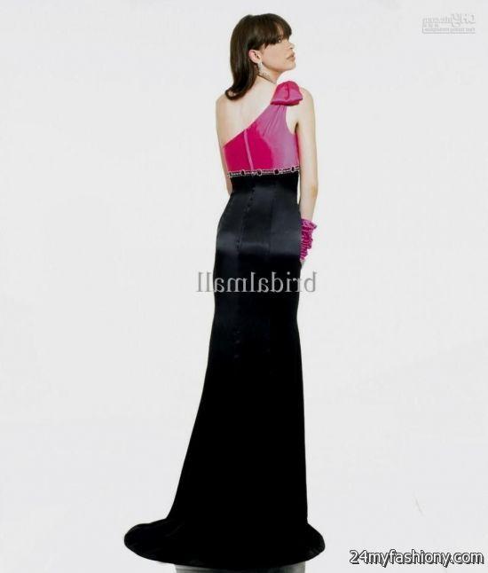 hot pink and black bridesmaid dresses wwwimgkidcom