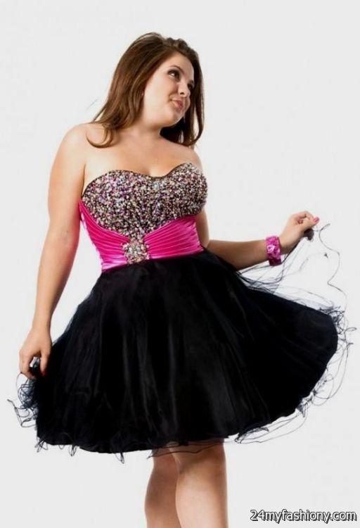 hot pink and black dresses 2016-2017 » B2B Fashion