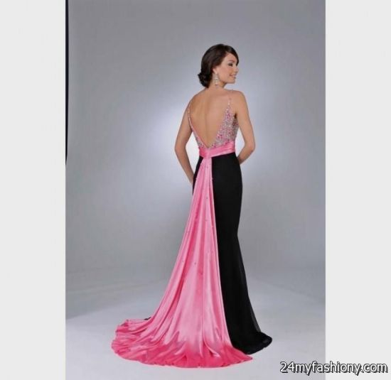 Prom Dresses Hot Pink And Black 57
