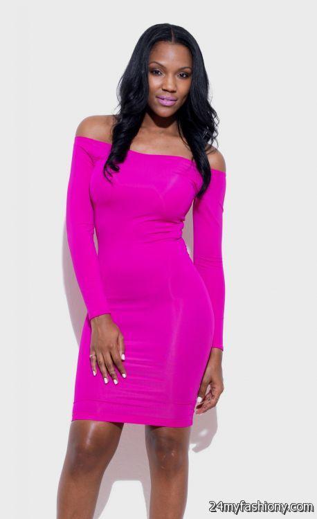 Hot Pink Dress 2016 2017 B2b Fashion