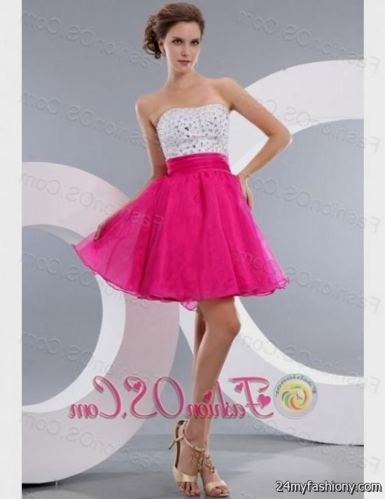 hot pink homecoming dresses 2016-2017 » B2B Fashion