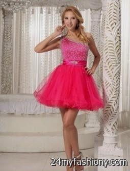 Pink Party Dresses For Juniors Photo Album - Reikian