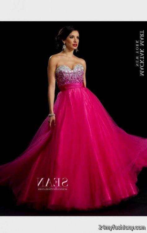 Beautiful Hot Pink Plus Size Prom Dresses Crest - Wedding Plan Ideas ...