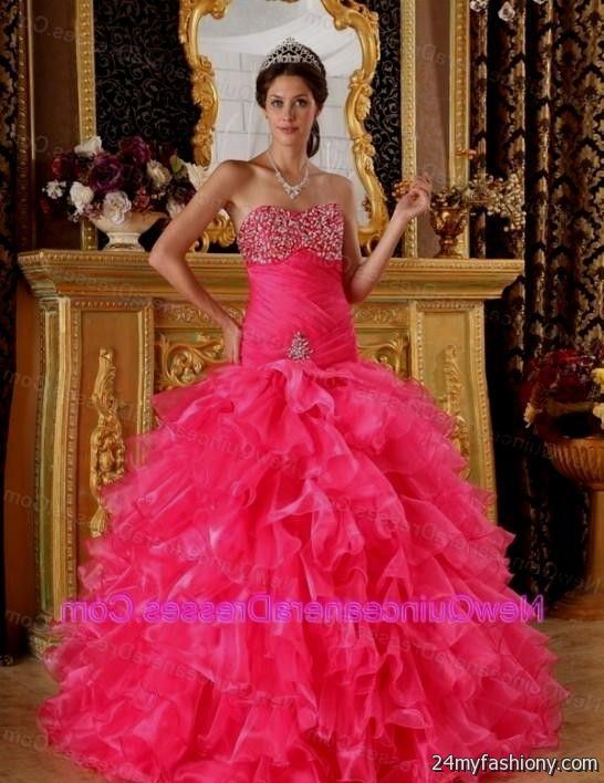 hot pink quinceanera dresses tumblr 2016-2017 | B2B Fashion