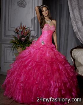 Pretty Hot Pink Wedding Dresses