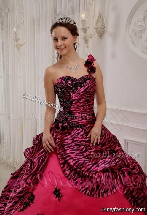hot pink zebra prom dresses 2016-2017 » B2B Fashion