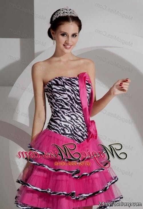 Zebra Prom Dresses 2018 42