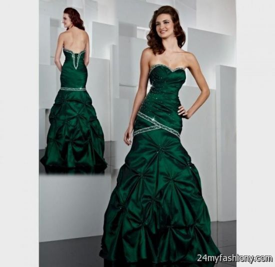 hunter green ball gowns 2016-2017 » B2B Fashion