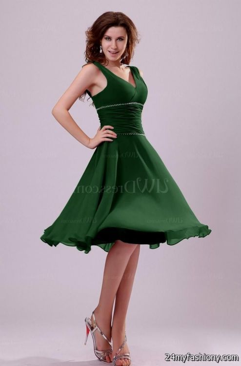 hunter green cocktail dress 2016-2017 » B2B Fashion