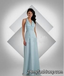 ice blue and silver bridesmaid dresses 20162017 b2b fashion