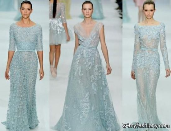 Ice Blue Winter Wedding Dress 2016 2017