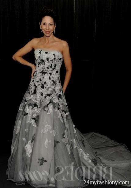 Ivory And Black Lace Wedding Dress Looks B2b Fashion