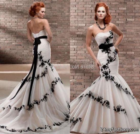 Black And Ivory Wedding Dress - Gown And Dress Gallery