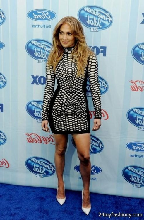 Jennifer Lopez Ama 2014 Dress