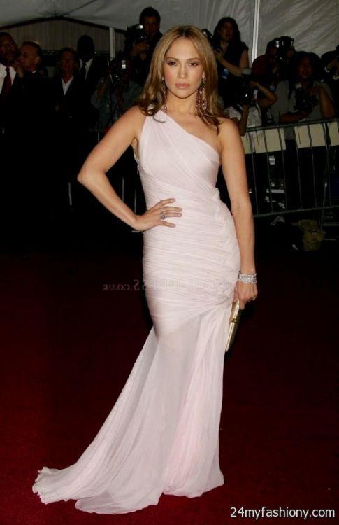 Jennifer Lopez red carpet dresses 2017-2018